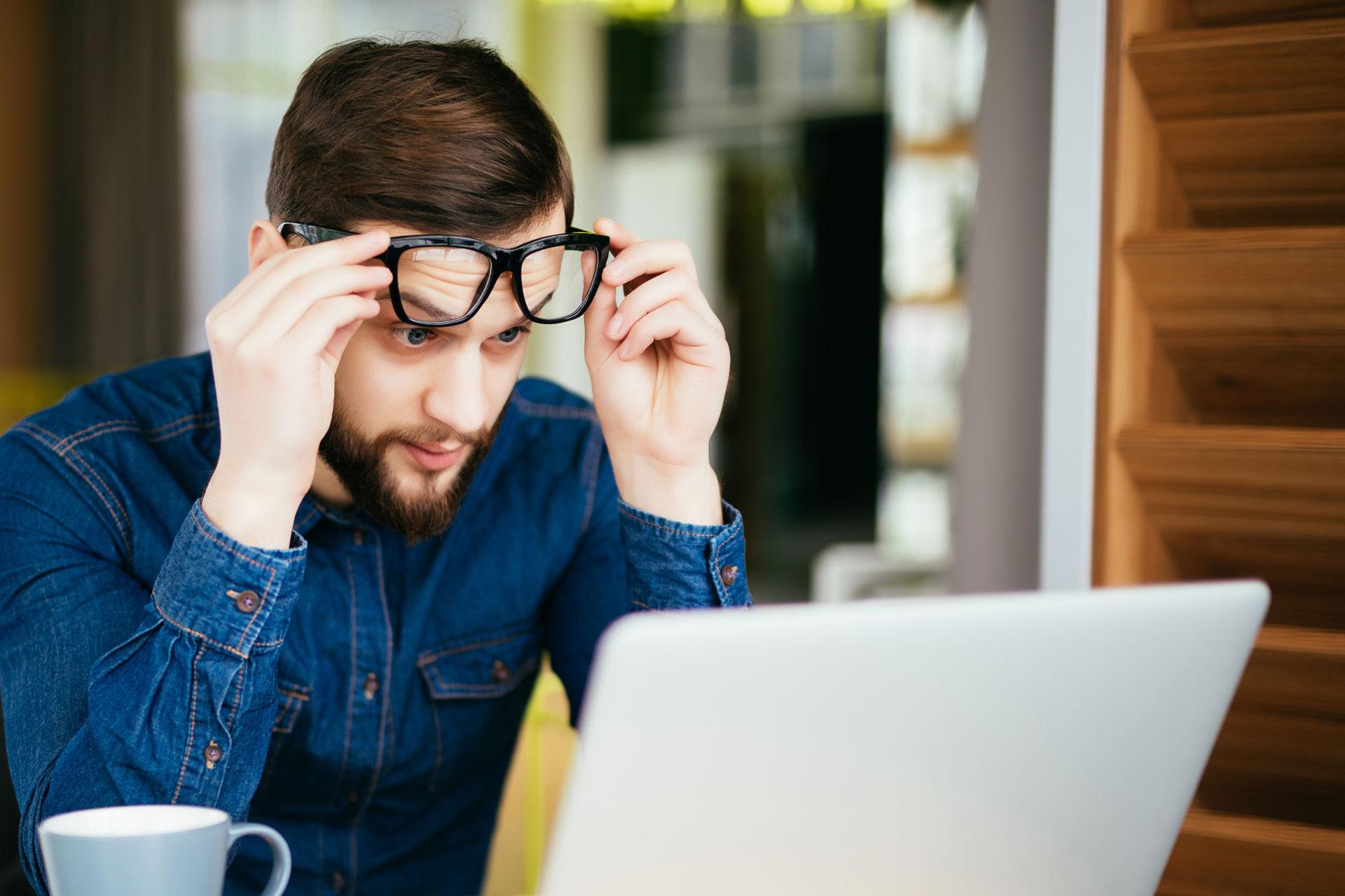 3fce77453a4f95 Problemen met zien ondanks een nieuwe bril